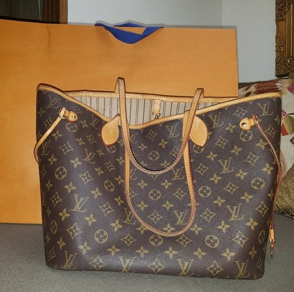 Louis Vuitton Handbags - Authentic LV Neverfull d72c8ad325b30